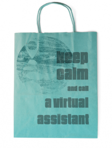keep calm - virtual assistant