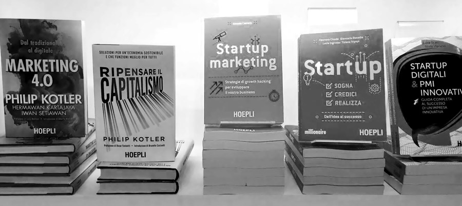 libreria startup marketing