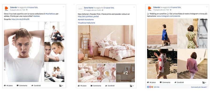 composizione immagini per facebook