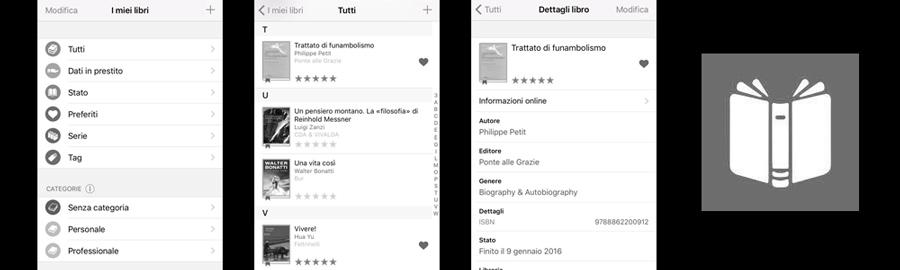 applicazione bookbuddy