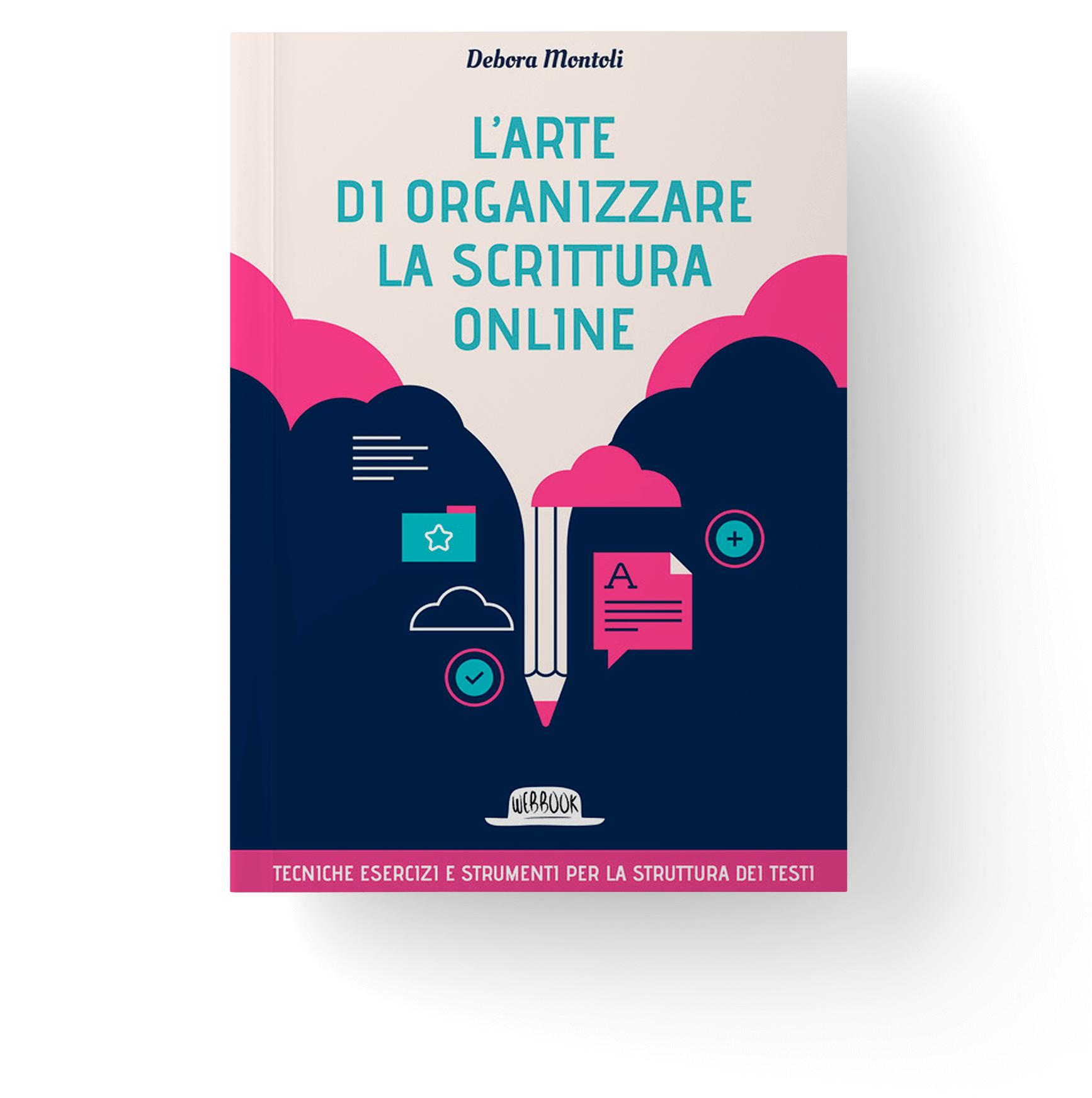 libro organizzare la scrittura online debora montoli - anteprima